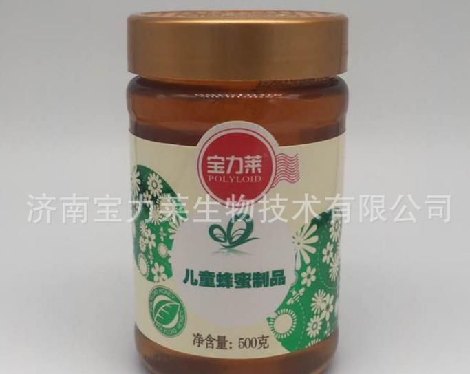宝力莱蜂蜜500g儿童蜂蜜制品玻璃瓶纯蜂蜜