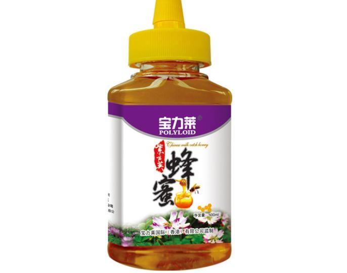 寶力萊蜂蜜500g紫云英蜂蜜誠招代理商