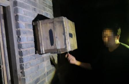 蜂农4个蜂箱被偷走