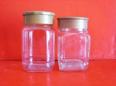 大八角蜂蜜玻璃瓶小八角蜂蜜瓶