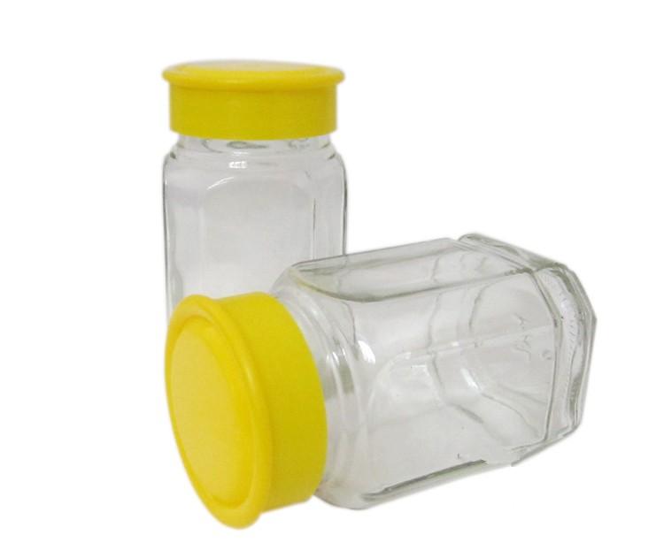 2斤1000克装蜂蜜瓶玻璃