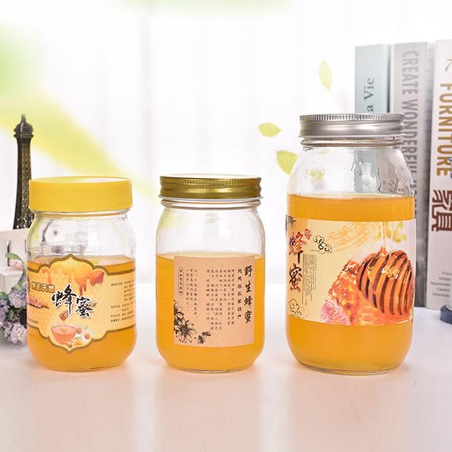 養蜂場用1斤2斤1公斤蜂蜜瓶